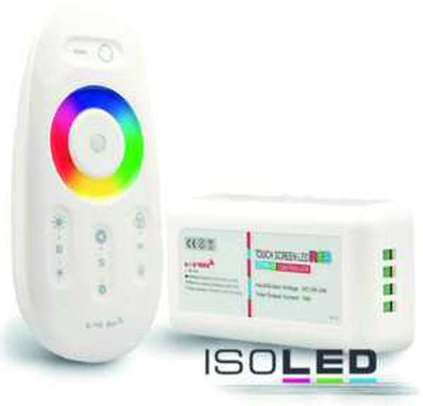 Isoled Touch-Controller Wireless weiss 12-24V max. 288W