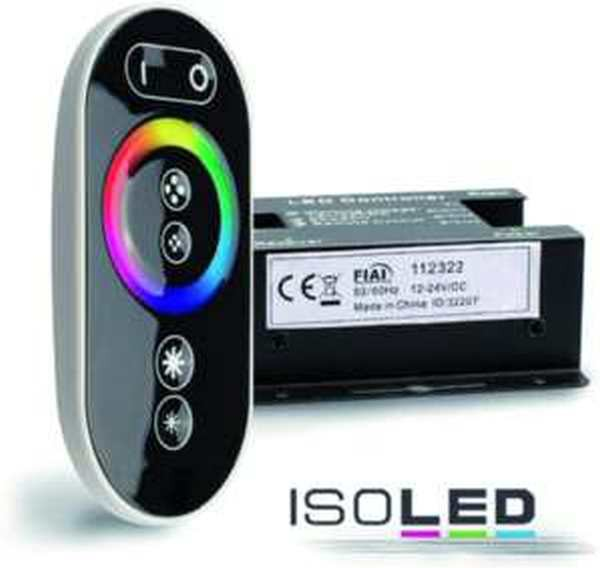 Isoled Touch-Controller Wireless RGB Controller 12-24V 432W