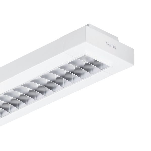Philips Lighting Rasteranbauleuchte TCS260 2x49W 830 HFD D6 WH